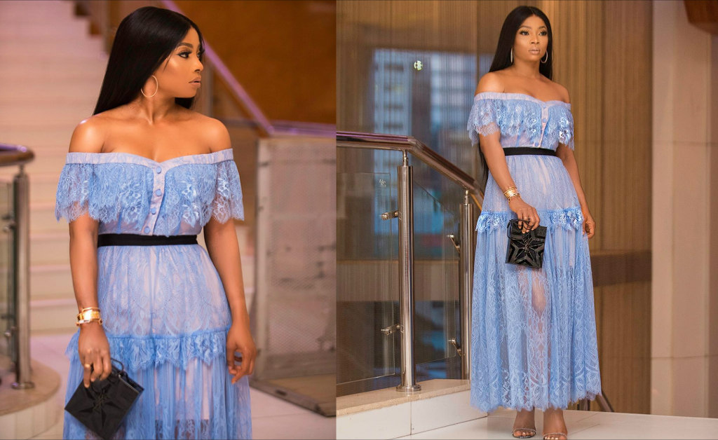 TOKE MAKINWA Glows In A $5,000 Look For The Premiere Of Lara And The Beat
