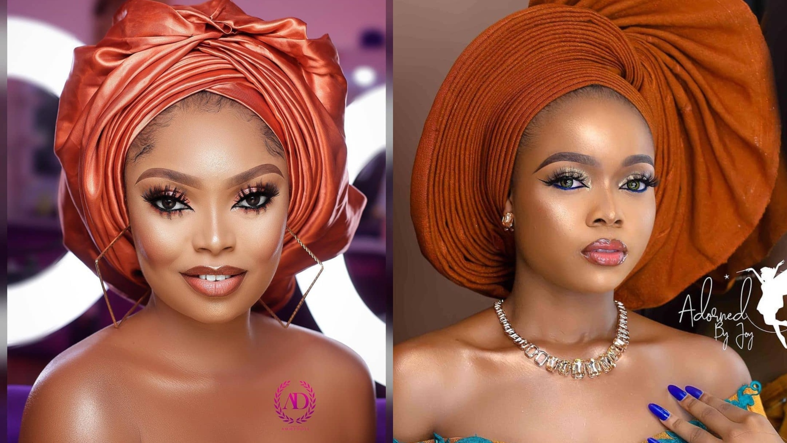 latest gele styles