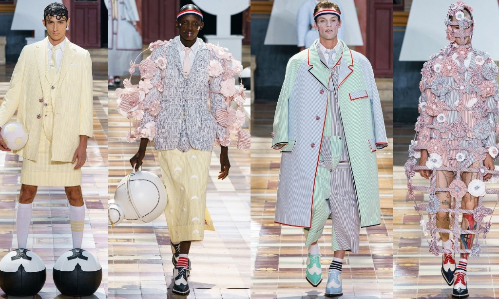 Thom Browne SS20 style rave